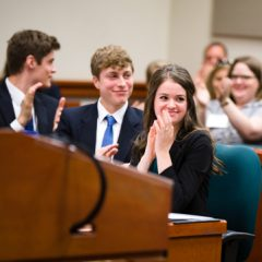 Classical schools and homeschools dominate National Mock Trial