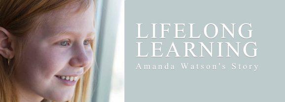 Lifelong Learning – Amanda Watson's Story