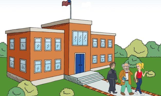A Professor, A Priest, and a Parent Walk into a School …