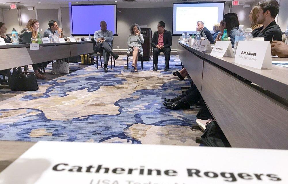 For Christ:  Catherine Rogers, USA Today Network