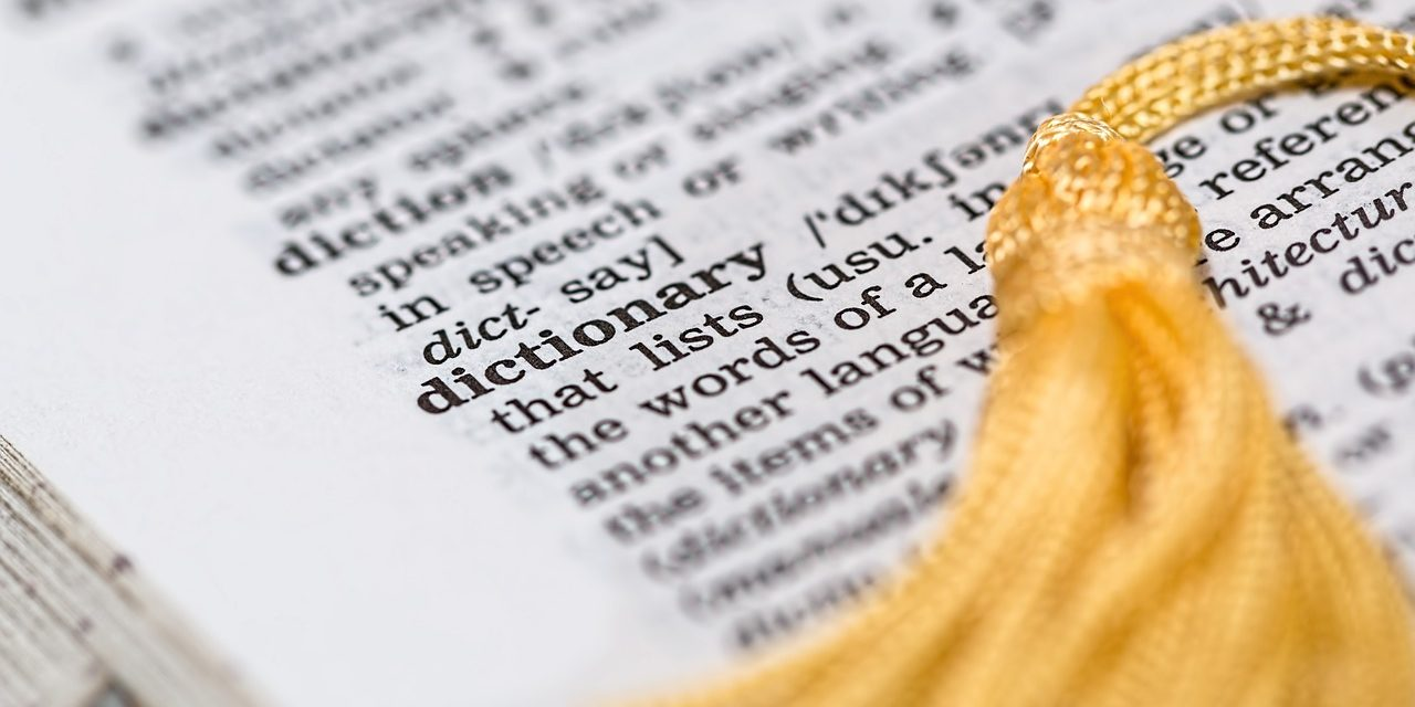 "<em>""Education"": A Tale of 2 Dictionaries</em>"
